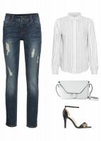 Sposób na białą bluzkę 5
